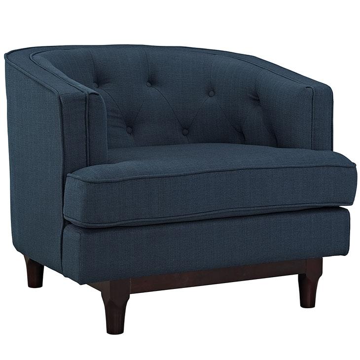 avenue sofa armchair blue 1