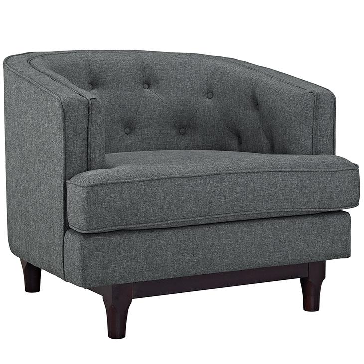 avenue sofa armchair dark gray 1