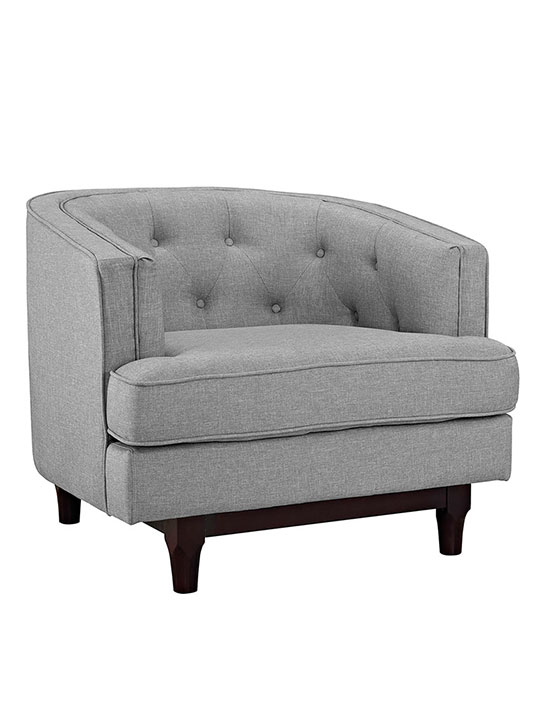 avenue sofa armchair light grey 1