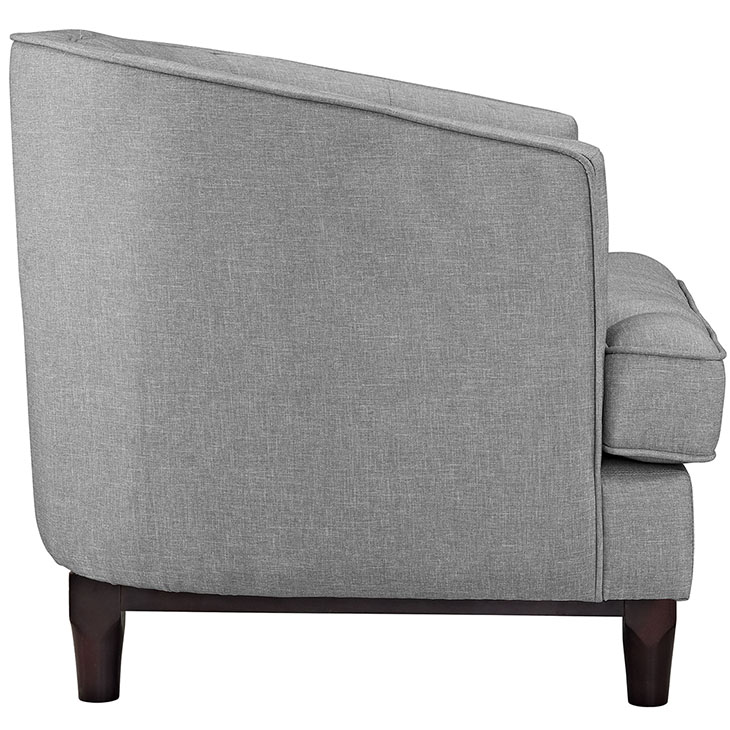 avenue sofa armchair light grey 2