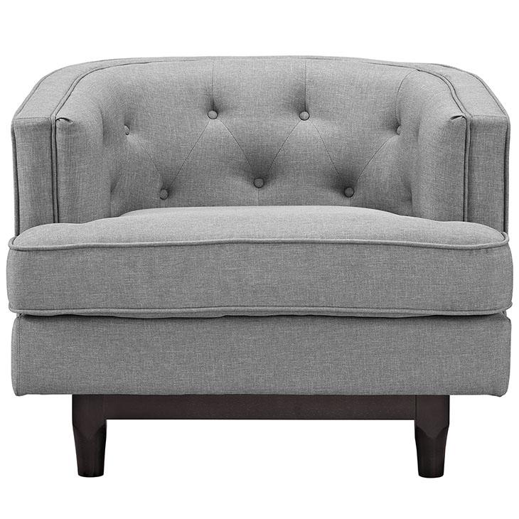 avenue sofa armchair light grey 4