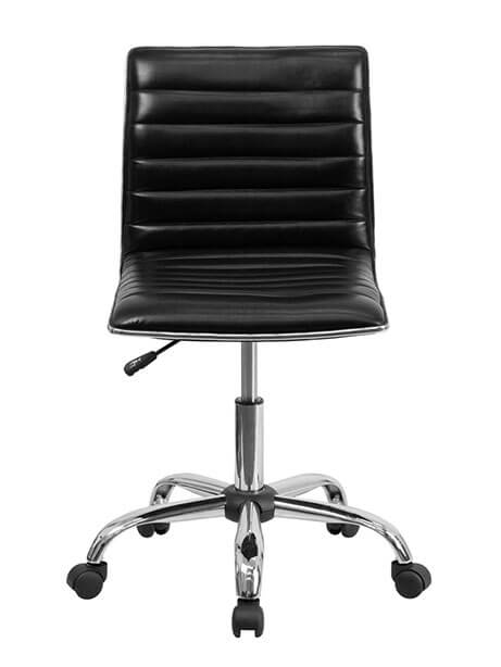 black station task chair