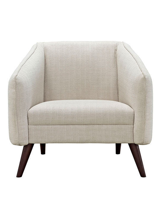 bloc sofa armchair cream
