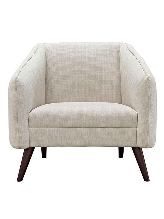 bloc sofa armchair cream