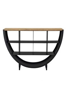 cirque wood black console table 237x315