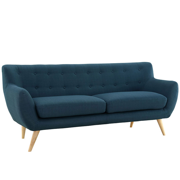 decade upholestered sofa blue 2