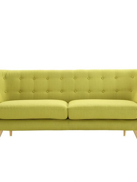 decade upholestered sofa lime green 1 461x614