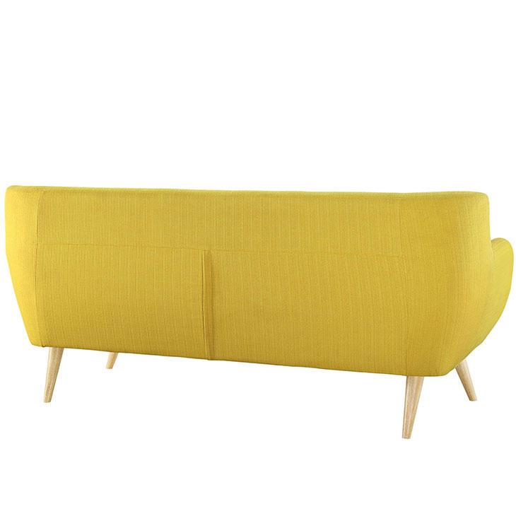 decade upholestered sofa yellow 2