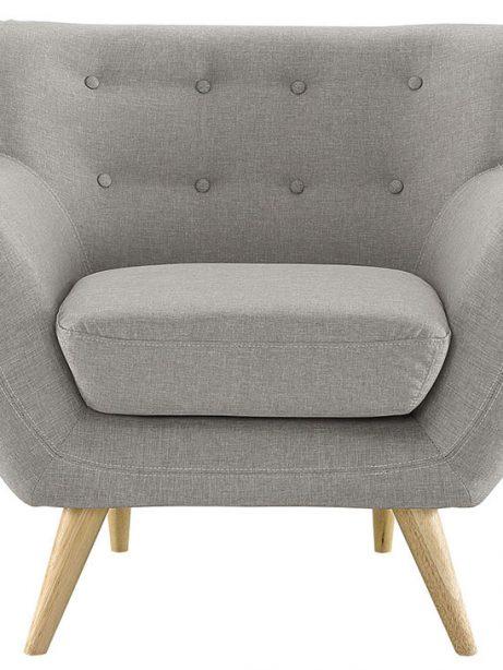 decade upholstered armchair light gray 2 461x614