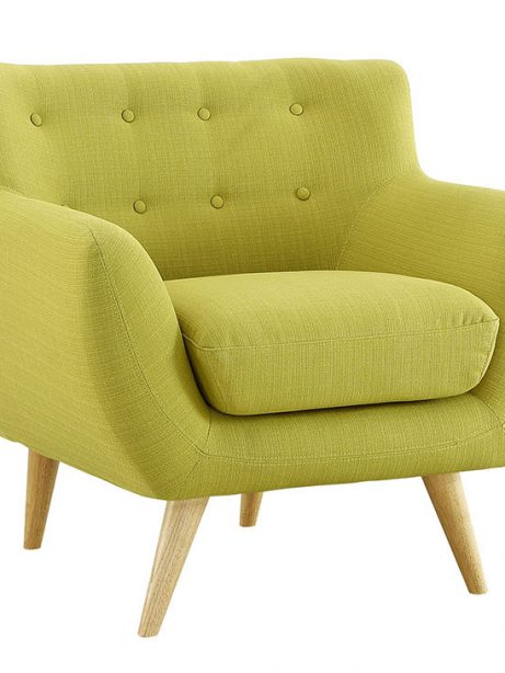 decade upholstered armchair lime green 2 461x614