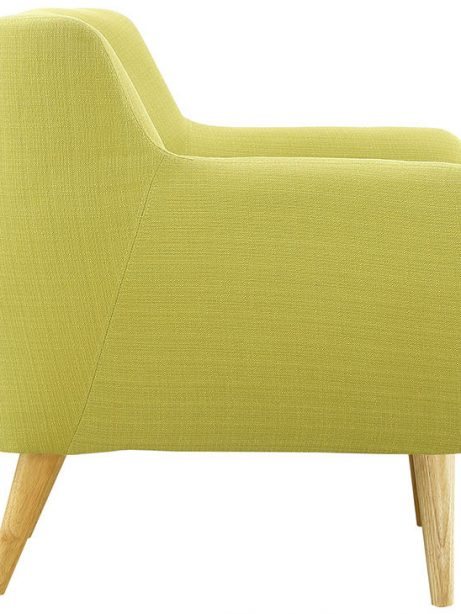 decade upholstered armchair lime green 3 461x614