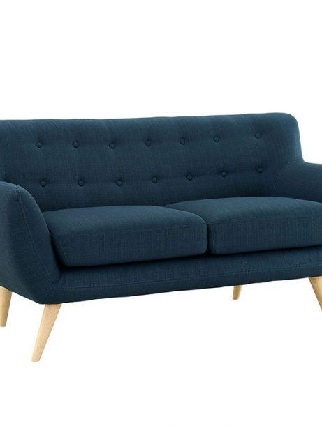 decade upholstered loveseat dark blue 2 461x614