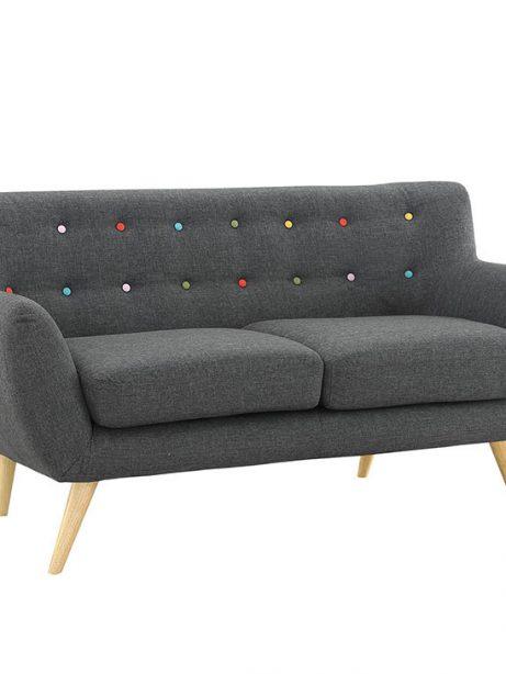 decade upholstered loveseat dark gray 1 461x614