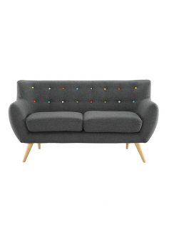 decade upholstered loveseat dark gray 237x315