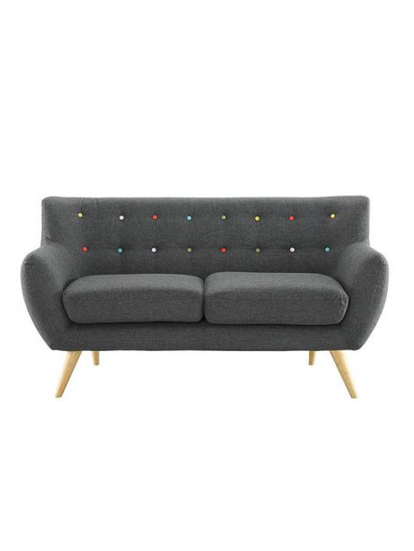 decade upholstered loveseat dark gray 461x614