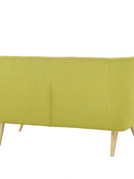 decade upholstered loveseat dark lime green 3 461x614