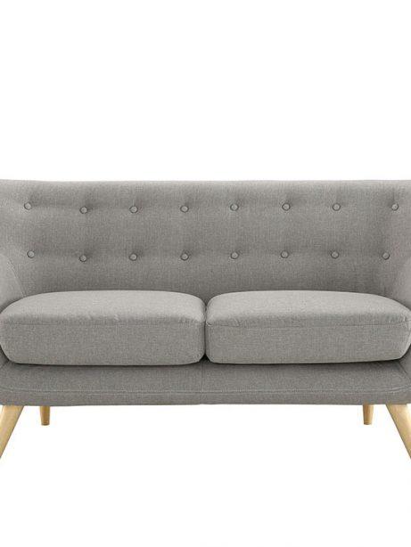 decade upholstered loveseat light gray 1 461x614