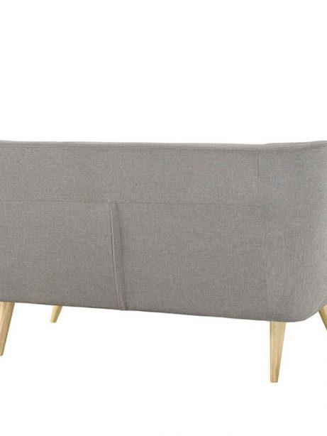 decade upholstered loveseat light gray 3 461x614