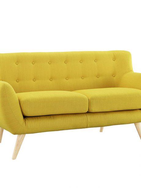 decade upholstered loveseat light yellow 2 461x614