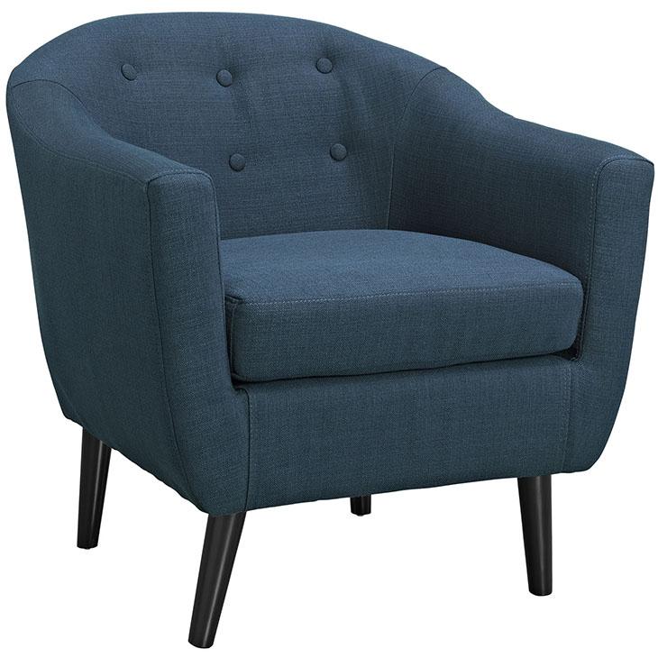 ept upholstered armchair blue 1
