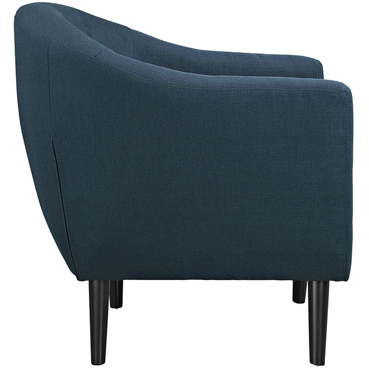 ept upholstered armchair blue 2