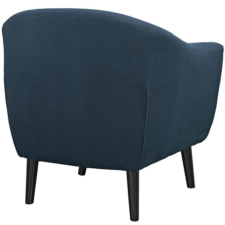 ept upholstered armchair blue 3