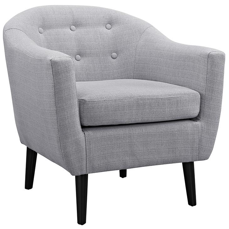ept upholstered armchair light gray 1
