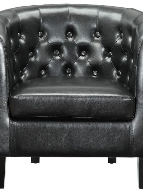 exclusive vegan leather sofa armchair black 1 461x614