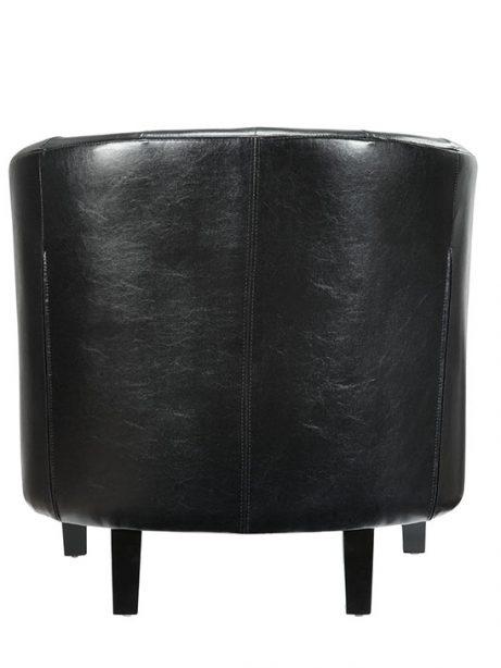 exclusive vegan leather sofa armchair black 3 461x614