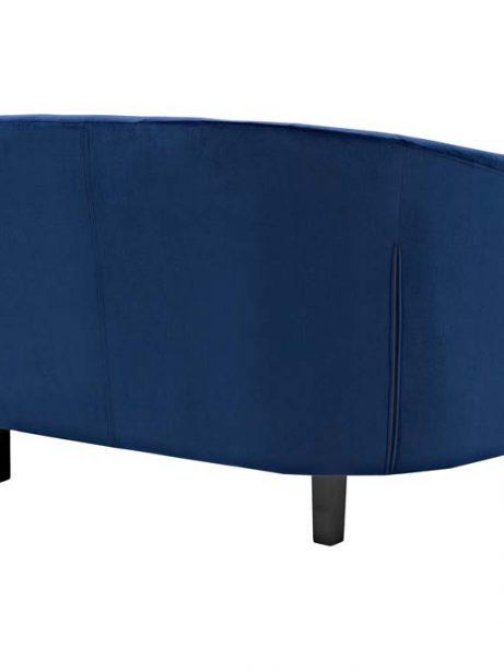 exclusive velvet loveseat blue 2 461x614