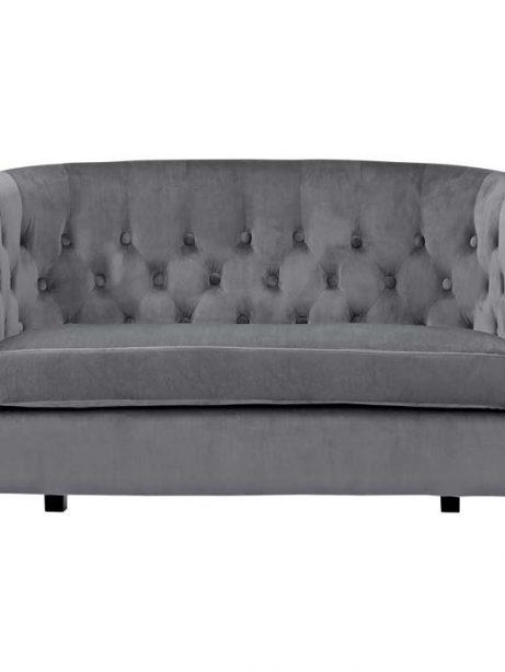exclusive velvet loveseat gray 1 461x614