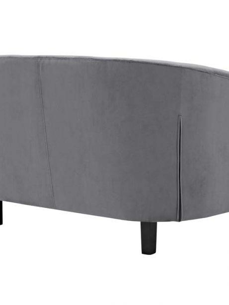 exclusive velvet loveseat gray 3 461x614