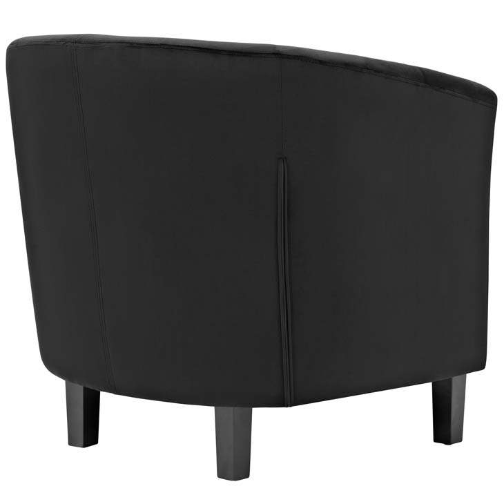 exclusive velvet sofa armchair black 2