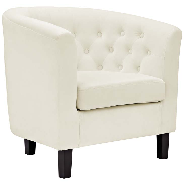 exclusive velvet sofa armchair cream 1