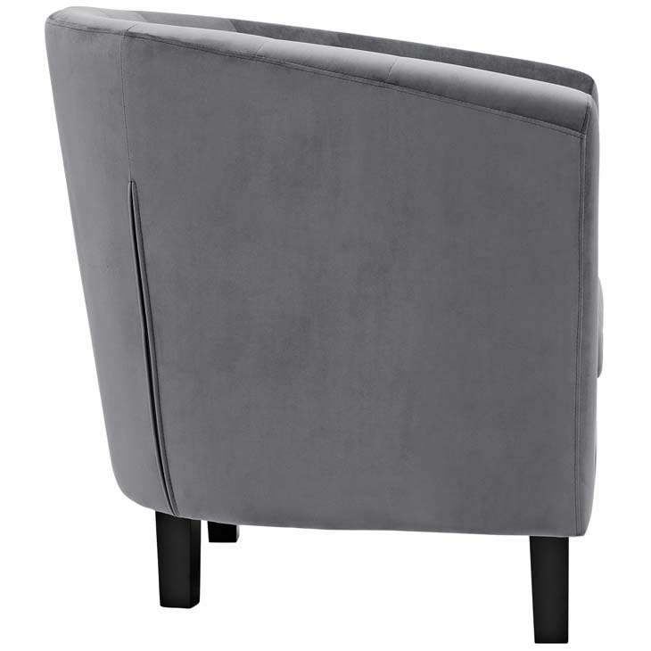 exclusive velvet sofa armchair grey 2