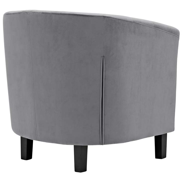 exclusive velvet sofa armchair grey 3