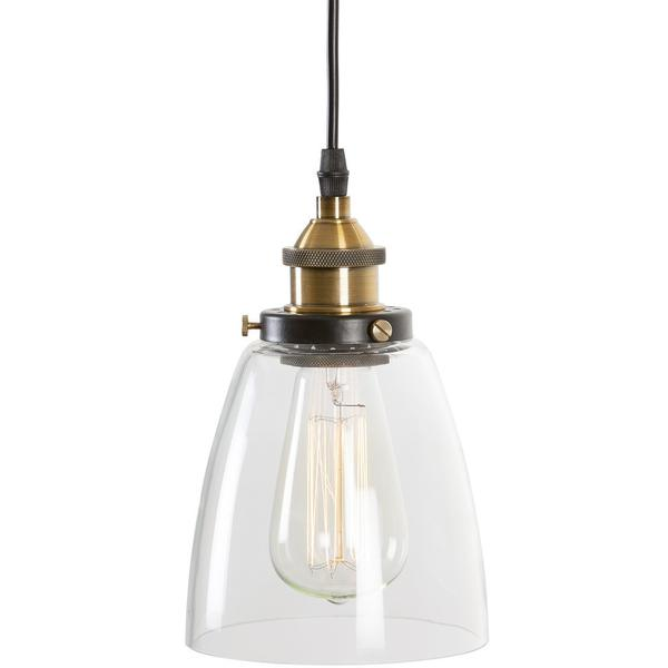 glass bell pendant light 1