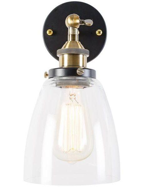 glass bell wall light 2 461x600