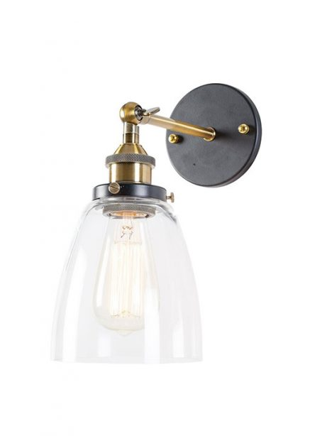 glass bell wall light 461x614