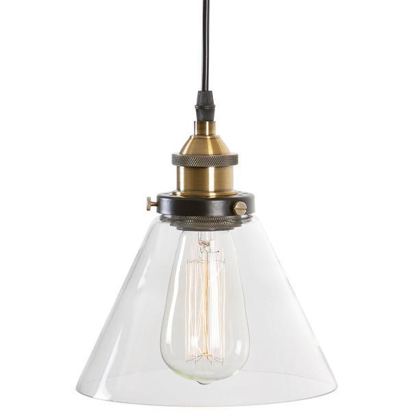 glass industrial pendant light 1