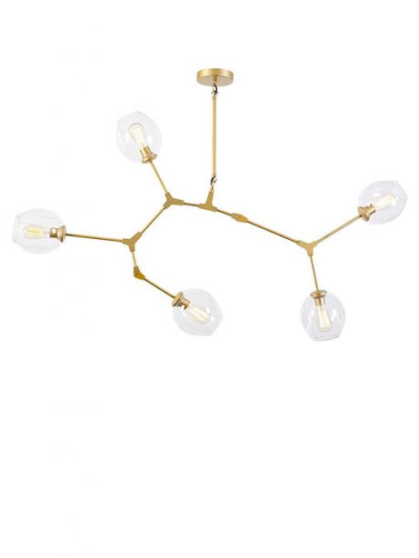gold space 5 tier chandelier 461x614