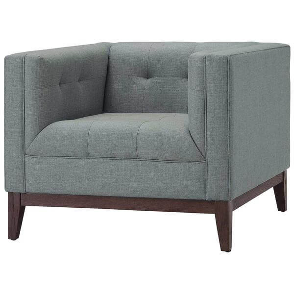 gray coop sofa chair