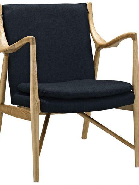 horn wood fabric chair black 1 461x614
