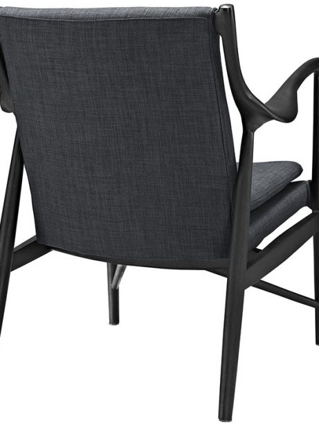 horn wood fabric chair gray 3 461x614
