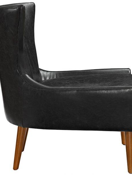 journal mid century modern accent chair black 2 461x614