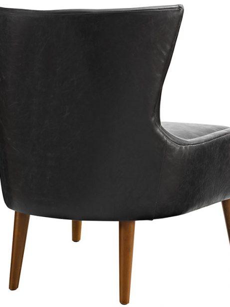 journal mid century modern accent chair black 3 461x614
