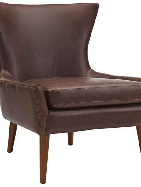 journal mid century modern accent chair brown 1 461x614