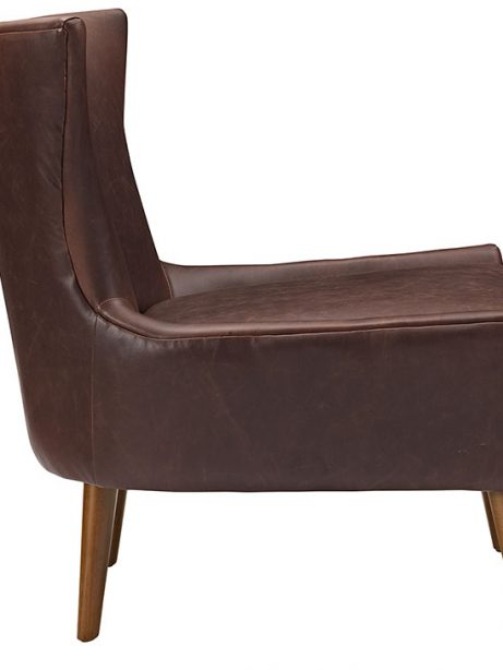 journal mid century modern accent chair brown 2 461x614
