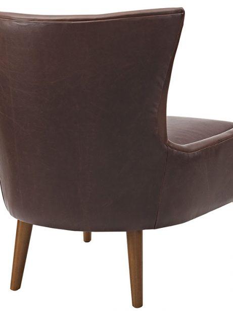 journal mid century modern accent chair brown 3 461x614