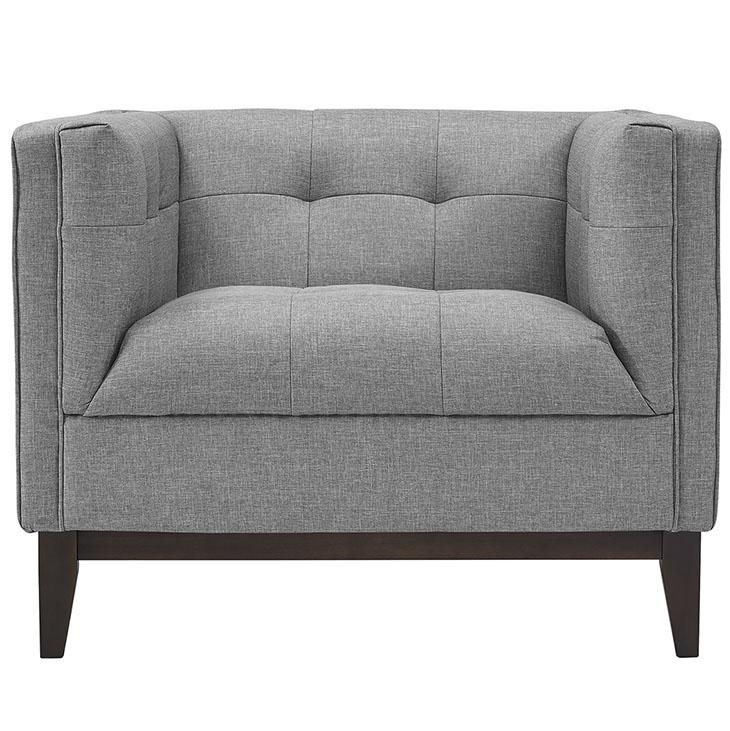 lark fabric armchair light gray 4